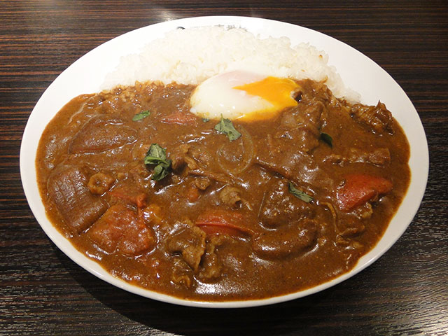 Sukiyaki Curry with Fresh Tomatoes
