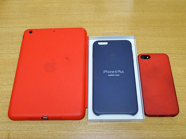 iPhone 6 Plus Case with iPhone 5 and iPad mini