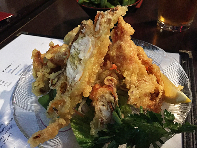 Tempura of Soft-Shell Crab