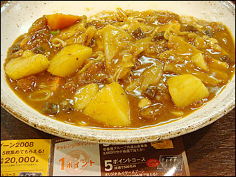Grand Mother Curry with Stewed Fibrous Meat