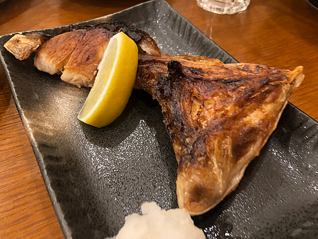 Grilled Collar of Yellowtail