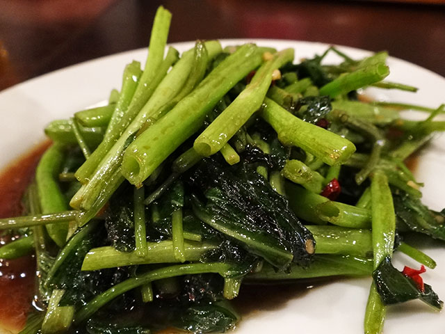 Stir-fried Chinese Green Vegetable