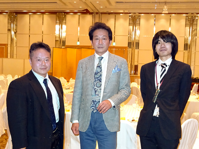 With Mr. Tatsumi and Mr. Ogawa