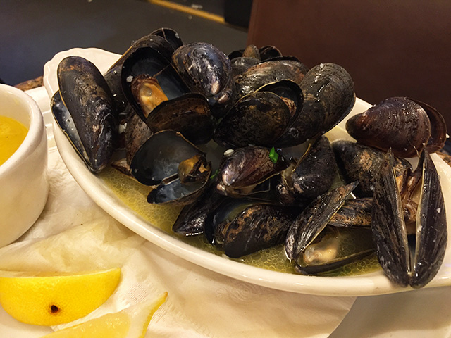 Mussels Bordelaise