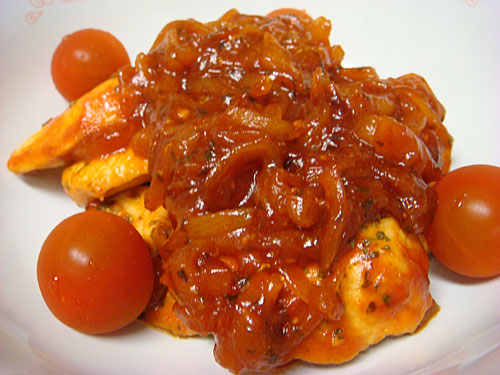 Grilled Chicken Breast with Tomato