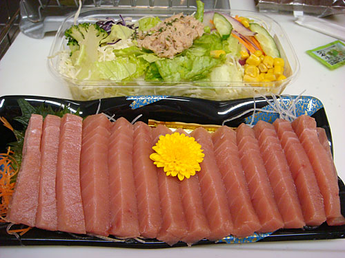 Tuna and Salad
