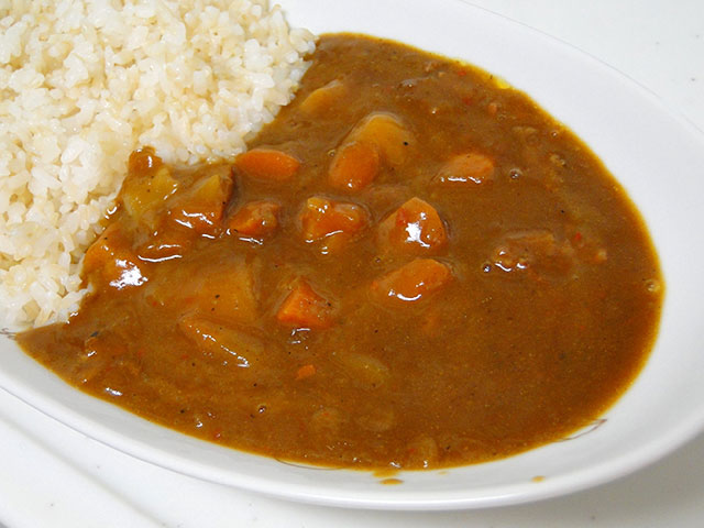 Bon Curry with Sprouted Brown Rice