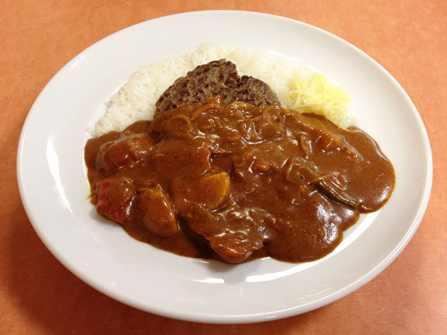 Butter Flavored Chicken Curry with Hamburger and Vegetables
