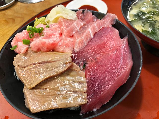 Four Kinds of Tuna Rice Bowl