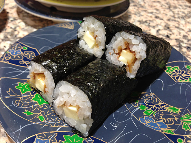 Cheese Sushi Roll