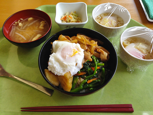 Variety Set Meal with Soft-Boiled Eggs