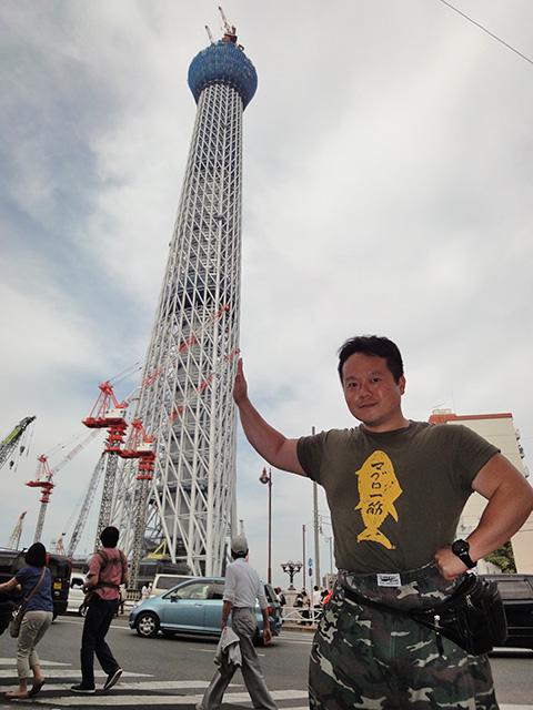 TOKYO SKY TREE and Dr. MaCHO