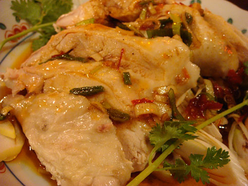 Sicuan Speciality Steamed Chicken with Original Squce