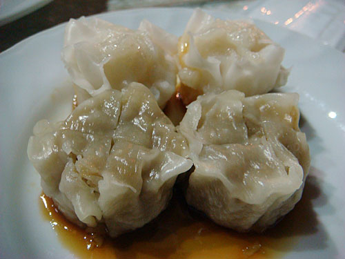 Steamed Meat and Shrimp Dumplings
