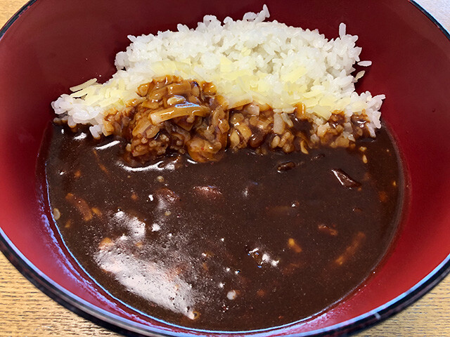 Beef Curry with Cheese