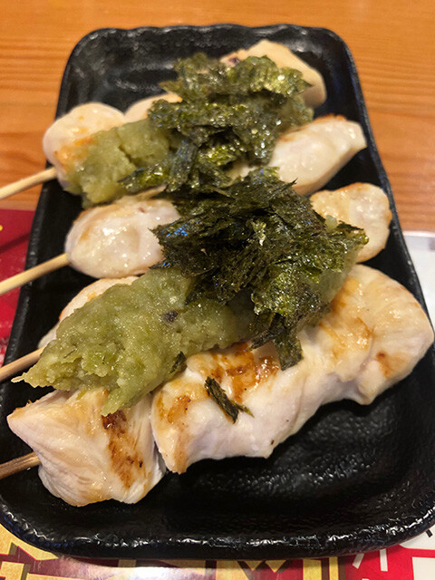 Chicken Tenderloin with Wasabi