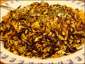 Dried Curry with Hijiki