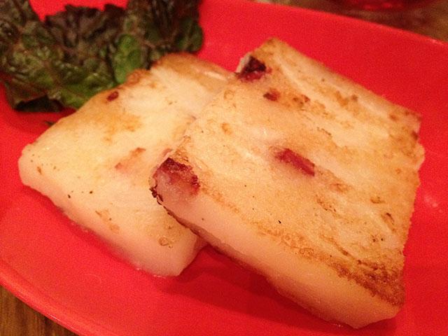Daikon Radish Rice Cake