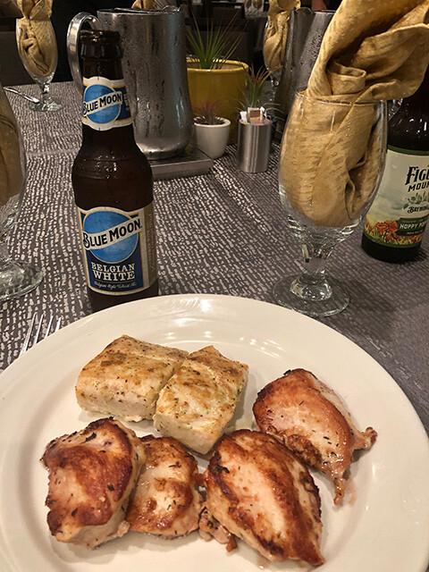 Dinner of Day 1