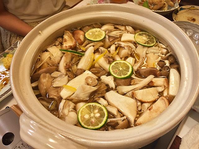Mushroom Hot Pot