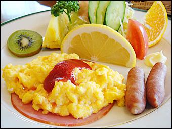 週末の朝食