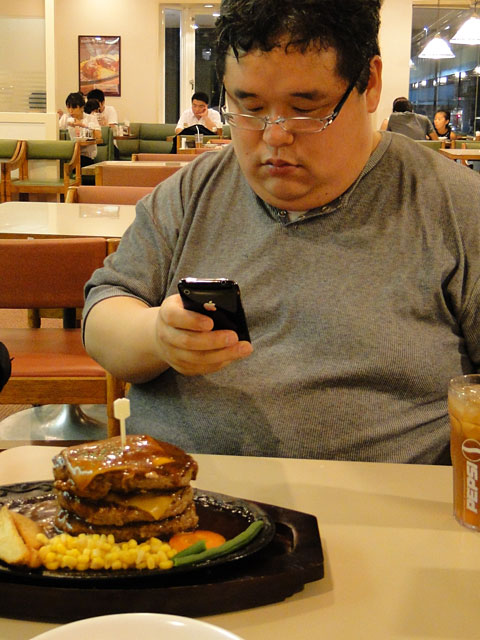 Mr. Tokumori and Tower Hamburgers