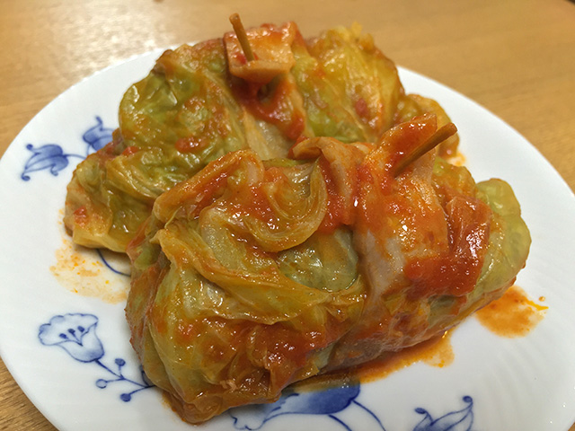 Meat-Stuffed Cabbage
