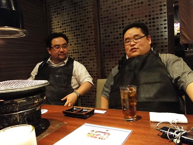 Mr. gaku and Mr. Tokumori