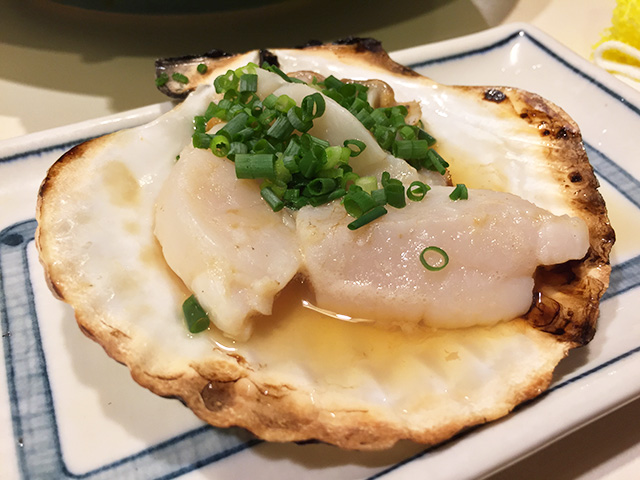 Broiled Scallop