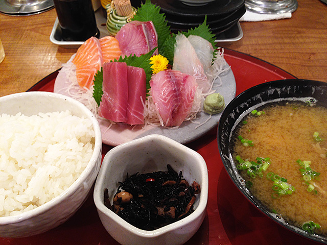 5 Assorted Sashimi Set Meal