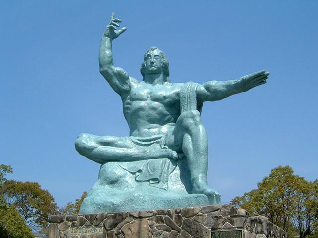 Peace Statue in 2003