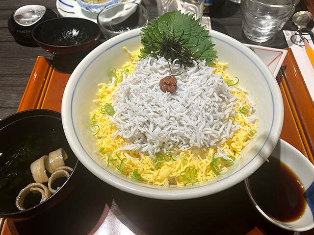 Whitebait Rice Bowl