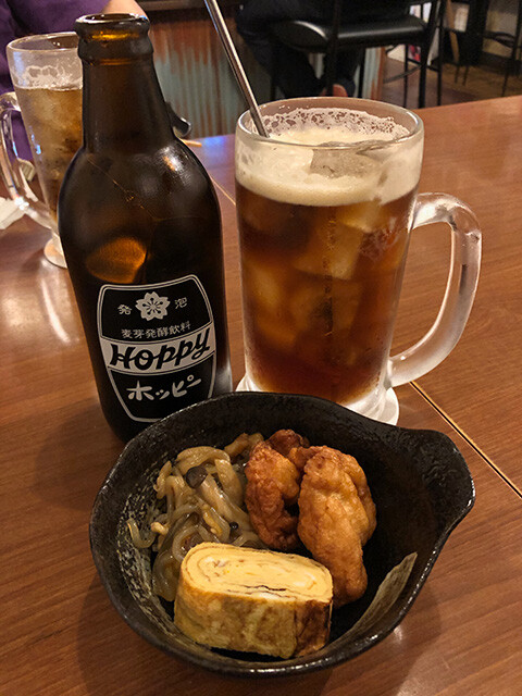 Coffee Hoppy with Appetizers