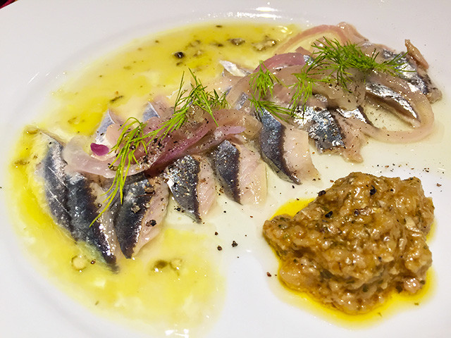 Marinated Saury