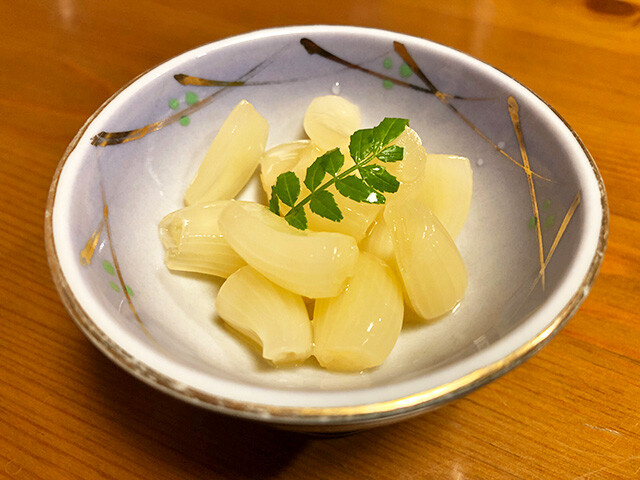 Pickled Japanese Leeks