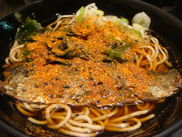 Herring Soba Noodles