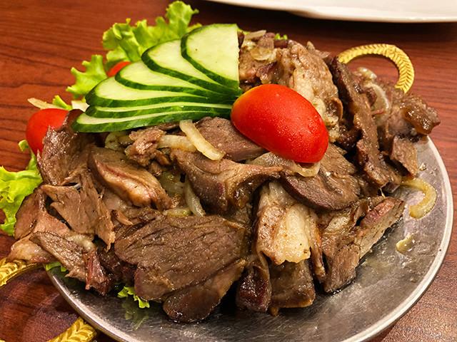 Grilled Mutton