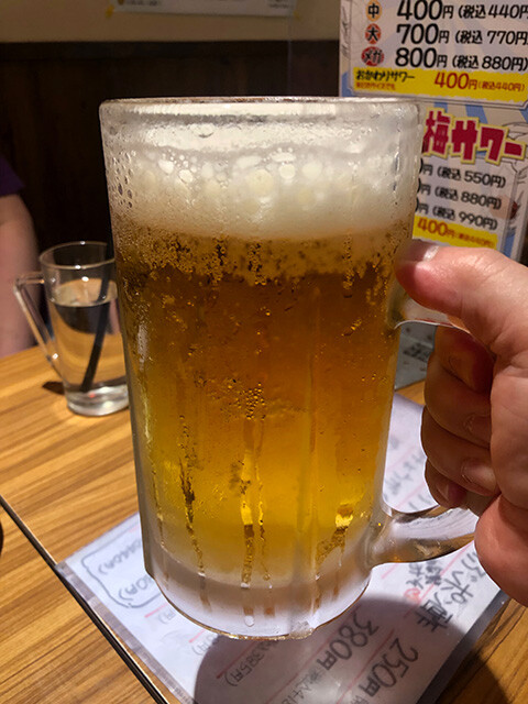 Toast with Draft Beer