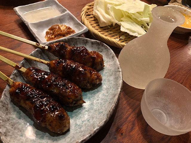 Special Chicken Meatball and Sake
