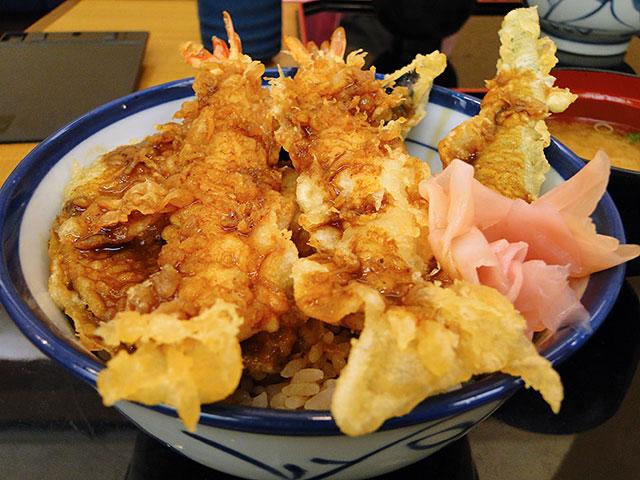 Curry Tempura Rice Bowl