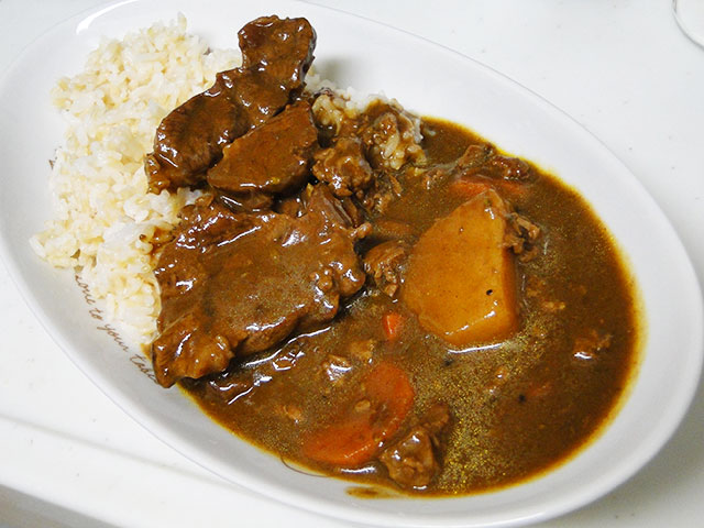 Homemade Spicy Fibrous Beef Curry