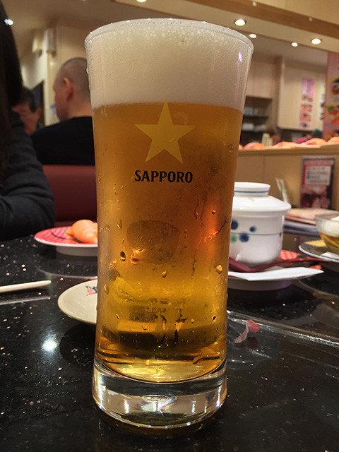 Draft YEBISU Beer