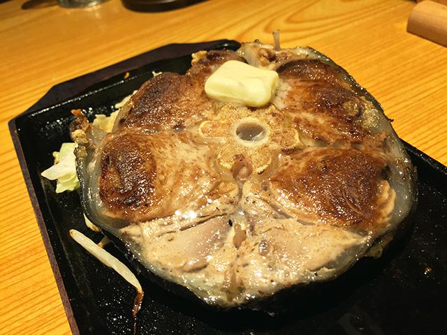 Grilled Tuna Tail