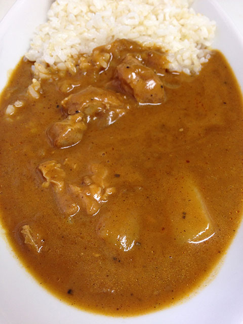 PON Curry Coconut with Sprouted Brown Rice