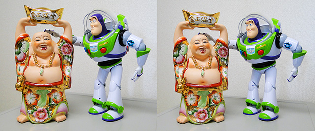 Kingyokumandow with Buzz Lightyear