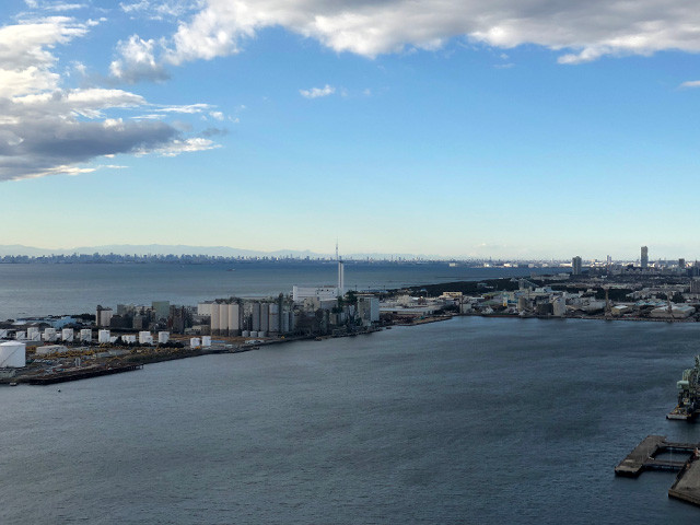 From Chiba Port Tower