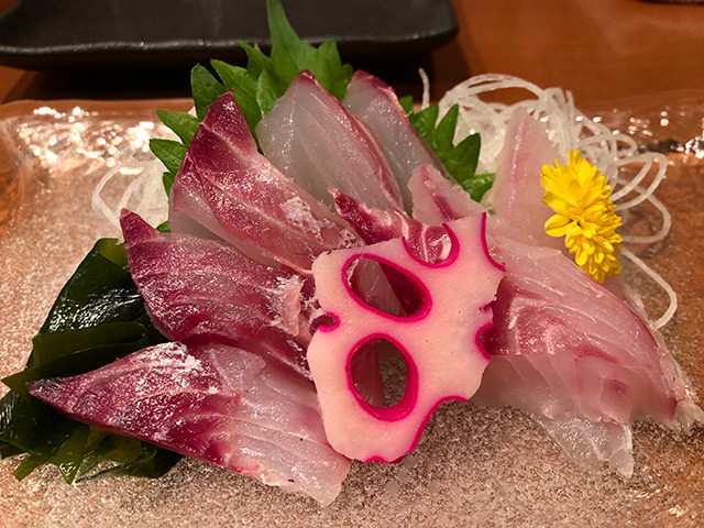 Chicken Grunt Sashimi