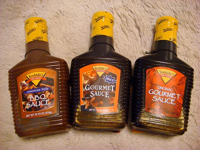 Yoshida Sauces