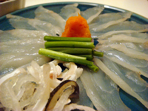 Blowfish Sashimi
