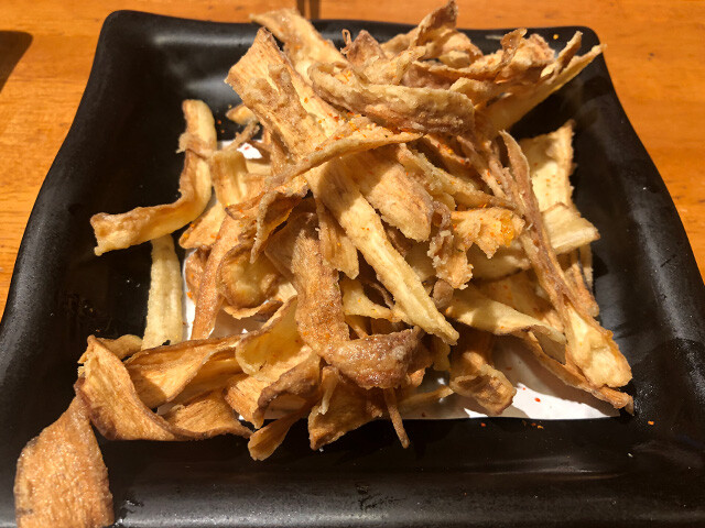 Deep-Fried Burdock Roots